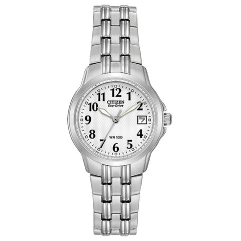 Citizen Eco-Drive Silhouette Ladies Sports Watch EW1540-54A 1003197