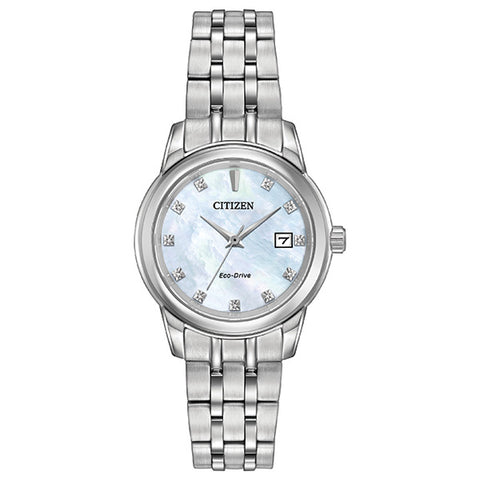 Citizen Eco-Drive Diamond Collection Ladies Watch EW2390-50D