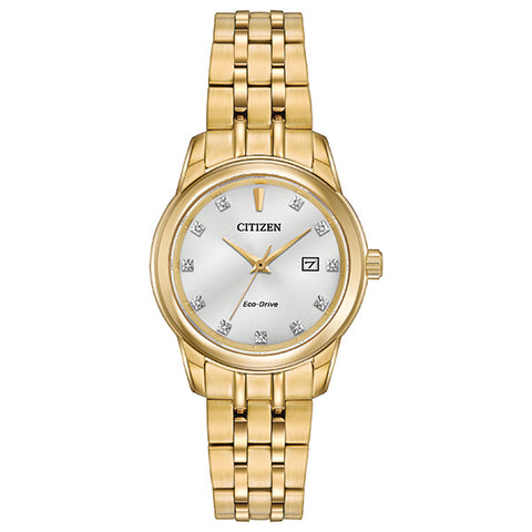 Citizen Eco-Drive Diamond Collection Ladies Watch EW2392-54A