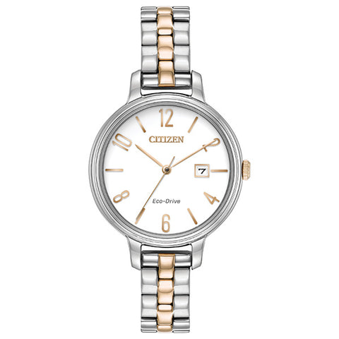 Citizen Eco-Drive Silhouette Ladies Watch EW2446-57A