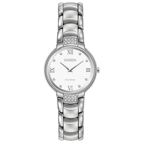 Citizen Ladies Diamond Silhouette Watch EX1460-55A