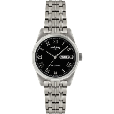 Rotary Mens Stainless Steel Bracelet Watch GB02226/10