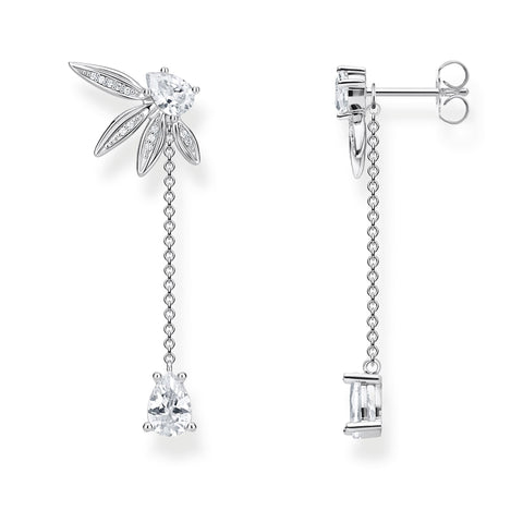 Thomas Sabo Leaves with Chain Earrings H2105-051-14