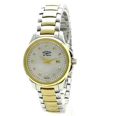 Rotary Ladies Primrose Two Tone Bracelet Watch LB90118/41