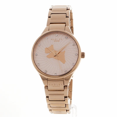 Radley - Ladies on the Run Rose Gold Bracelet Ladies Watch RY4244