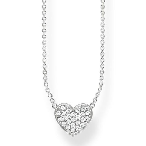 Thomas Sabo Heart Pave Necklace 4804413