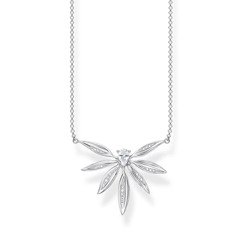 Thomas Sabo Leaves Silver Necklace KE1949-051-14