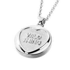 Love Hearts - Sterling Silver Wild Thing Necklace SP1525CB
