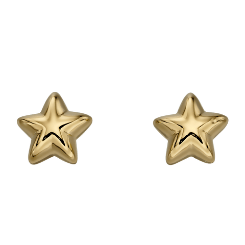 Little Star Jewellery - Sophie Gold Star Stud Earrings LSE0154 0503007