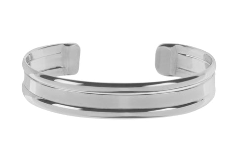 Tianguis Jackson Sterling Silver Flat Torque Bangle BT2148 0401230