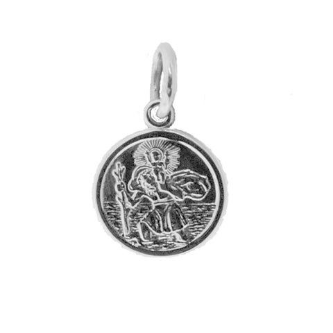 Sterling Silver 10mm St Christopher Pendant P9234S00 0402340