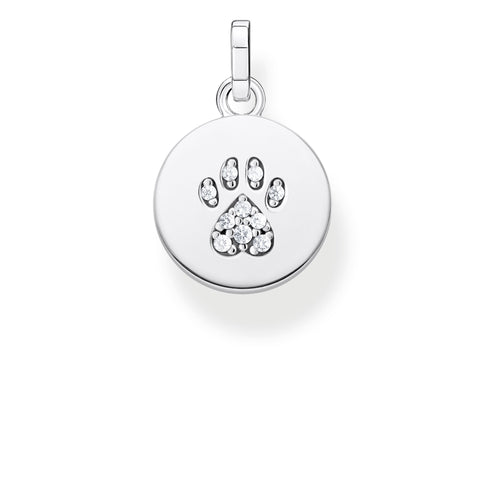 Nomination Stainless Steel & 18ct Gold Baby Pacifier Charm 030109 07
