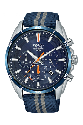 Pulsar Gents Solar Chrono Watch PZ5089X1 1005154
