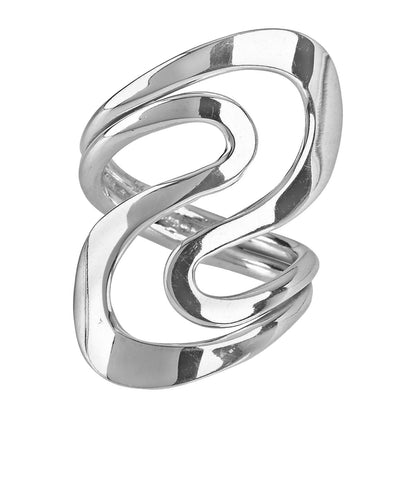 Tianguis Jackson Sterling Silver Swirl Ring R0551-Q 0408027