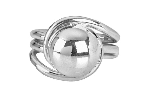 Tianguis Jackson Sterling Silver Ball Ring R0599-N 0408029