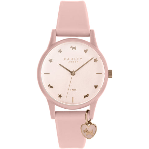 Radley - Pink Silicone Strap Ladies Watch RY2730