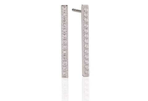 Sif Jakobs - Siena Sterling Silver with White CZ Earrings SJ-E1011-CZ 4003304