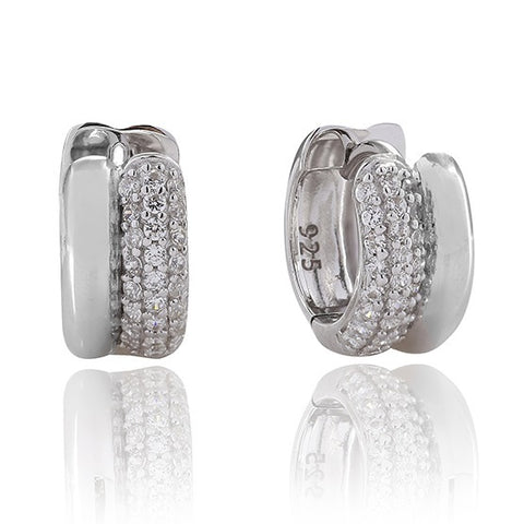 Sif Jakobs - Teramo Sterling Silver with White CZ Earrings SJ-E1944-CZ 4003195