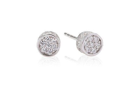 Sif Jakobs - Portici Sterling Silver with White CZ Earrings SJ-E2161-CZ 4003234