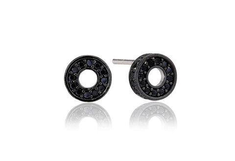 Sif Jakobs - Portici Ciclo Black CZ Earrings SJ-E2186-BK 4003236
