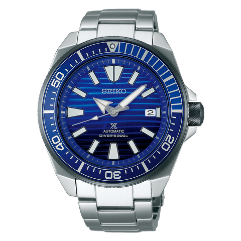 Seiko Prospex Samurai Save The Ocean Automatic Divers Watch SRPC93K1