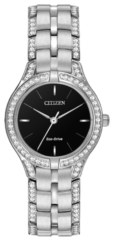 Citizen Ladies Silhouette Crystal Watch FE2060-53E 1003301