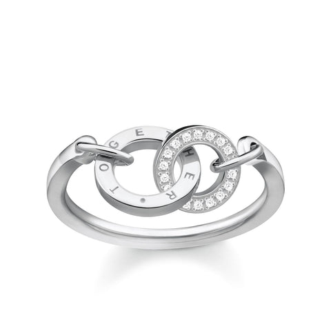 Nomination CZ Silver Virgo Charm 330302 06