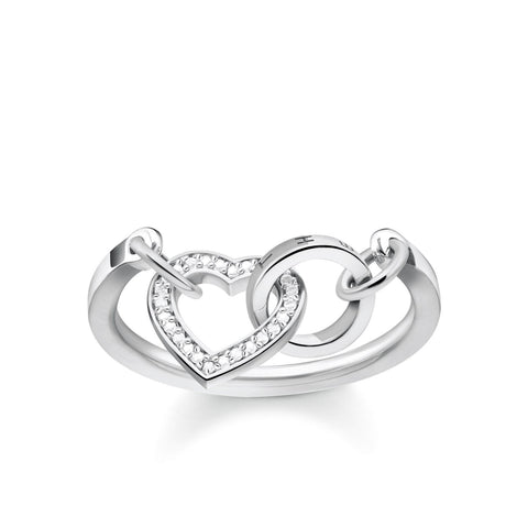 Thomas Sabo Together Heart Ring TR2142-051-14