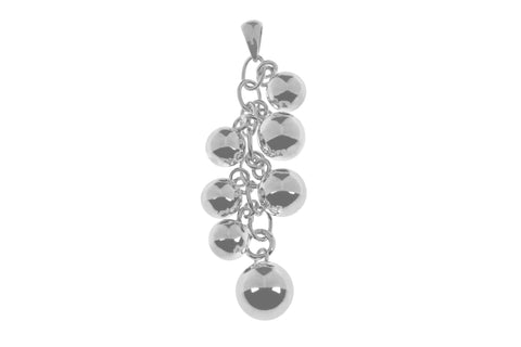 Tianguis Jackson Sterling Silver Multi Ball Pendant CP0843 0404029