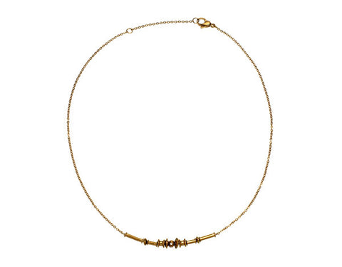 Edblad - Aija Gold Plated Stainless Steel Necklace 83141 XXX