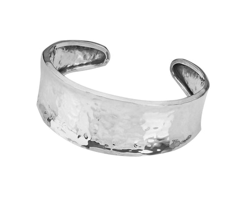 Tianguis Jackson Sterling Silver Concave Torque Bangle BT1806 0401147
