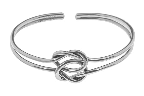 Tianguis Jackson Sterling Silver Knot Torque Bangle BT2172 0401239