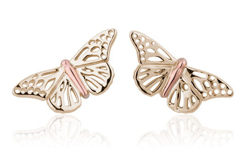 Clogau - Butterfly Stud Earrings YBWLE01 xxx