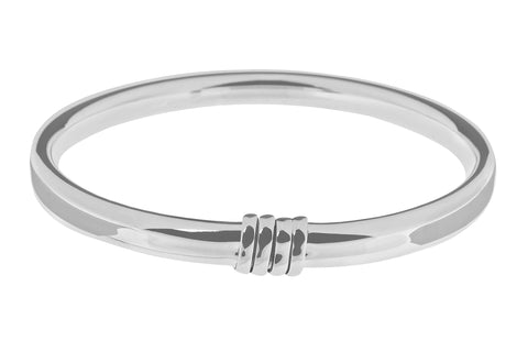 Tianguis Jackson Sterling Silver Slave Bangle BT2160 0401234
