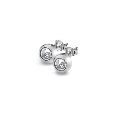 Hot Diamonds Anais Floating Circle Stud Earrings AE015 2003273