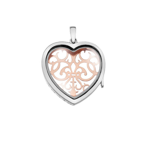 Hot Diamonds Anais Medium Filigree Heart Locket AL014 2004397