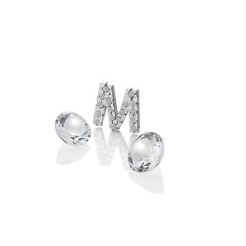 Hot Diamonds Anais Letter M with White Topaz Charms EX232 AC081 2007227