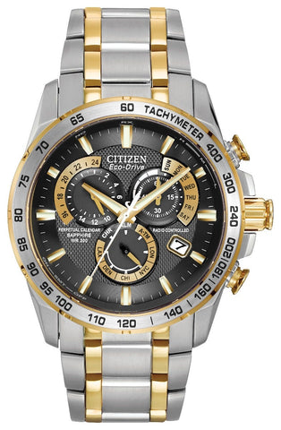 Citizen Eco Drive Gents Perpetual Chrono A-T Watch AT4004-52E 1050179