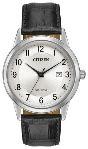 Citizen Mens Eco Drive Black Strap Watch AW1231-07A 1003227