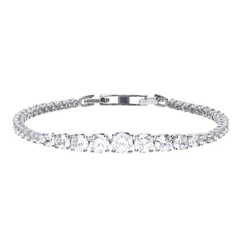 Diamonfire Graduated Tennis Bracelet B5203 4705010