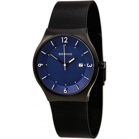 Bering Gents Classic Brushed Black Watch 14440-227