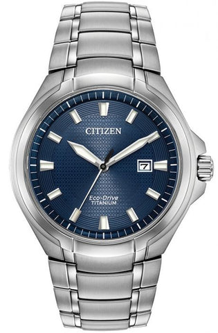 Citizen Super Titanium Eco Drive Mens Watch BM7431-51L 1003338