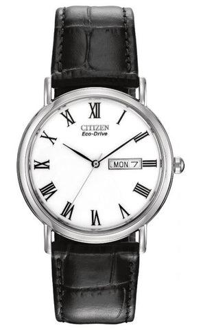 Citizen Mens Eco Drive Black Strap Watch BM8240-11A 1050187