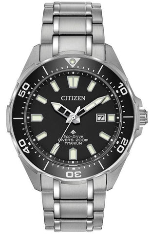 Citizen Promaster Diver Super Titanium Mens Watch BN0200-56E 1003349