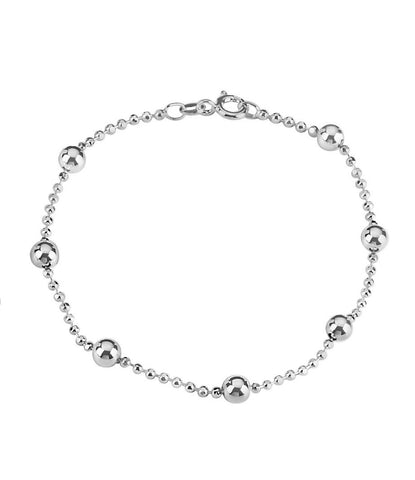 Tianguis Jackson Sterling Silver Ball Bead Bracelet BT1286 0401208