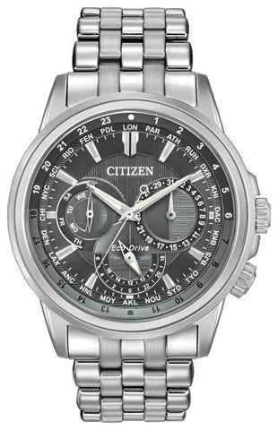 Citizen Calendrier Eco-Drive Mens Bracelet Watch BU2021-51H 1003325