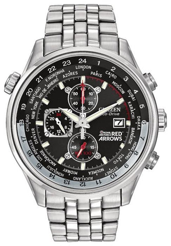 Citizen Men's Red Arrows Chronograph Eco-Drive Bracelet Watch CA0080-54E 1003272