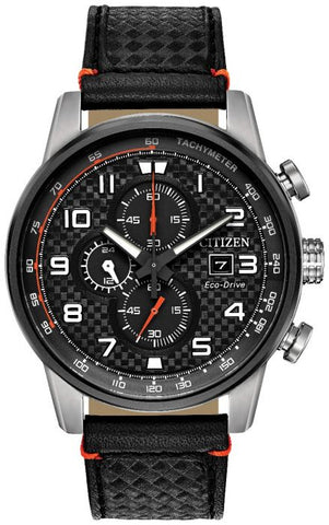 Citizen Eco-Drive Mens Sports Chrono Watch CA0681-03E 1003335