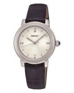 Seiko Blue Leather Strap Ladies Watch SRZ451P1 1004066