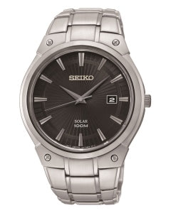 Seiko Solar Powered Gents Bracelet Watch SNE341P1 1004028